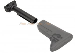 g36 stock adaptor m4 6 position marui classic army jing gong aeg black