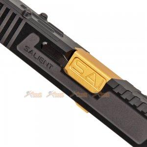 emg sai aluminium tier one slide kit gold barrel rmr cut marui g17 gbb