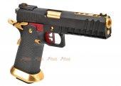 AW Custom HX2032 Hi-CAPA Gas Blowback Airsoft Pistol (Semi, Full-Auto Capable)