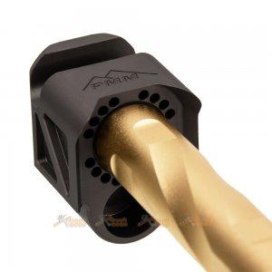 rgw pmm compensator outer barrel vfc g19x g45 airsoft gbb de black