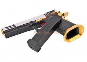 aw custom hx2031 hicapa gas blowback airsoft pistol semi full auto capable