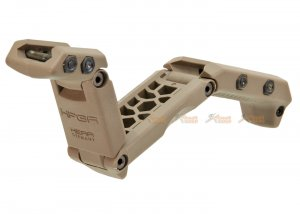 ASG HERA ARMS HFGA Multi-Position Front Grip for 1913 Picatinny Rail - TAN