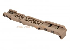 asg hera arms hfga multi position front grip 1913 picatinny rail tan