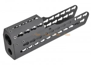 Army Force 9.7 Inch Metal Keymod Handguard for S&T T21 Series Airsoft AEG