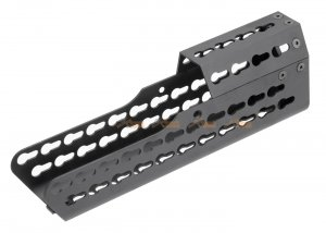 army force 9.7 inch metal keymod handguard  s&t t21 series airsoft aeg rifle