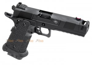 Army Costa Carry Comp GBB Pistol (Black)