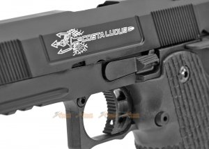 army costa carry comp gbb pistol black