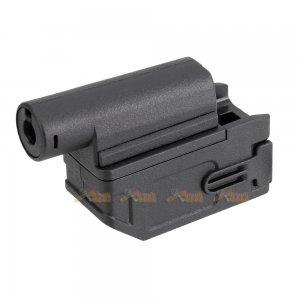 Battleaxe M4 Magazine Adapter for CYMA / Marui /  Golden Eagle M870 Shotgun (Black)