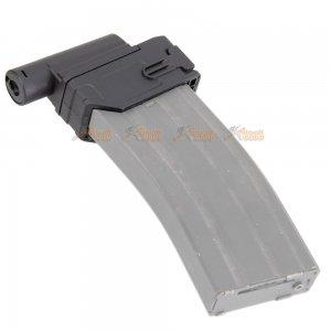 battleaxe m4 magazine adapter cyma marui golden eagle m870 shotgun black
