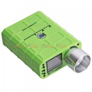 WE AC-001 X3400 Airsoft Chronograph for BB Paintball (Green)