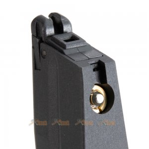 metal alloy 25rds gas magazine kjworks kp15 cz shadow2 series airsoft gbb black