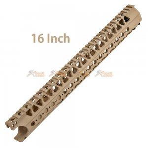 16 Inch Handguard for Marui M4 (DE)
