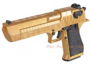 Cybergun Desert Eagle .50 AE Tiger Stripe GBB Pistol ( Black / Gold )