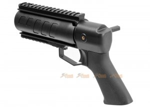 aps thor power up 40mm grenade launcher black