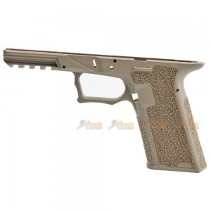 JDG Polymer 80 Licensed P80 PF940V2 Grip for Marui / WE G17 Gen3 (FDE)