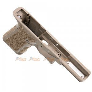 jdg polymer 80 licensed p80 pf940v2 grip marui we g17 gen3 fde