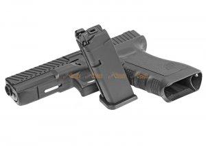 army alloy slide r17-2 g17 gbb pistol black