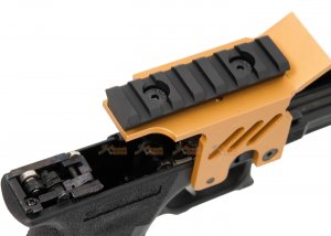 agg we lower frame scope mount marui we g18c series gbb gold