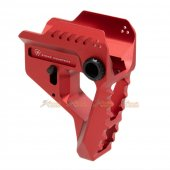 Aluminum Strike Industries Pit Viper Stock for Strike Industries 7-Position Advanced Receiver Extension (Red)