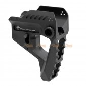Aluminum Strike Industries Pit Viper Stock for Strike Industries 7-Position Advanced Receiver Extension (Black)