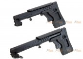 5ku pt3 ak telescopic side foldable butt stock ghk lct cyma ak series black