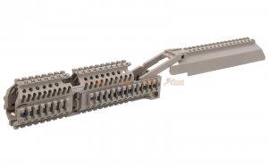 5KU Handguard Set with Dust Cover Scope Mount for LCT / GHK / Marui / E&L AK AEG & GBB Series