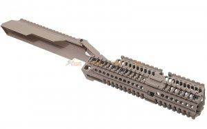 5ku handguard set dust cover scope mount lct ghk marui enl ak aeg gbb series