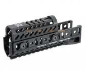 5KU Aluminium Handguard Set for GHK / LCT AK Series (Black)