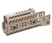 5KU Aluminium Handguard Set for GHK / LCT AK Series (TAN)