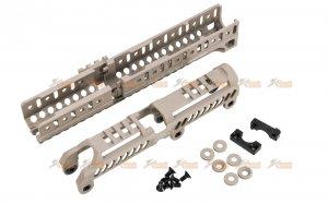 5ku b31n b30u type handguard set lct cyma ghk ak series aeg gbbr tan