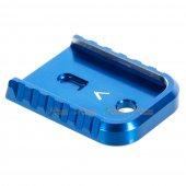 MITA Aluminium Magazine Base for Umarex / VFC G Series GBB (Blue, Thin Type)