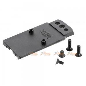 MITA M17 CNC Aluminum Alloy RMR Mount Base for SIG AIR M17 Series GBB (Black)
