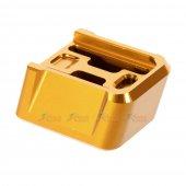 MITA Aluminium Magazine Base for Marui & WE G Series GBB (Gold, Thick Type)