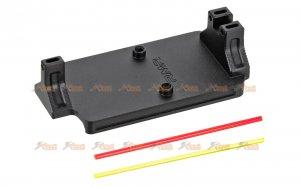 MITA Stylish Scope RMR Mount for VFC G Series GBB (Black)