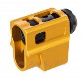 mita t style compensator 14mm ccw flash hider m17 Mp9 m9 1911 m92F g34 hicapa series gbb gold