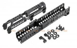 5ku model b31n b30u ak handguard set ghk cyma lct ak series aeg black