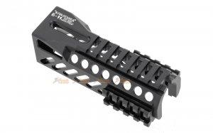 5ku model b11 classic railed handguard ghk cyma lct ak74u series aeg black