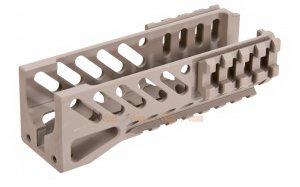 5ku model b11 classic railed handguard ghk cyma lct ak74u series aeg tan