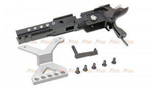 aw custom metal middle frame aluminum cmore mount we hicapa 5.1 4.3 gbb