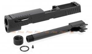 MITA M17 X-FIVE Style Slide Set for VFC / SIG AIR M17 GBB (Black)