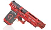 Armorer Work Custom VX7312 Deadpool RMR Style 17 GBB Pistol with Compensator (Red)