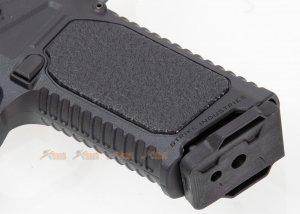 high end version emg strike industries ark17 g17 gbb pistol compensator 2tone black silver