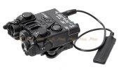 Nylon version DBAL-A2 Airsoft Illuminator Pointer Device ( Green Laser ) ( 20mm QD Mount ) ( BDAL PEQ-15A A2 Laser Devices ) - Black
