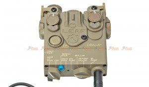 nylon version dbal a2 airsoft illuminator pointer device green laser 20mm qd mount bdal peq 15a a2 laser devices