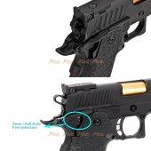 emg sti international dvc3 gun 2011 gbb full auto threaded
