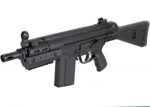JG Tokyo Marui Clone T3 SAS-G Shorty RIS Airsoft AEG Rifle w/ Full Stock