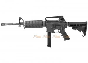 WE M4A1 PCC Version GBB Rifle - Black