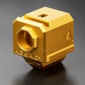 RWA Agency Arms 417 Single Port Compensator (14mm CCW) - Gold
