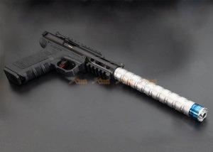 rgw erector dummy silencer 14mm ccw aaP01 we galaxy kc-02 silver