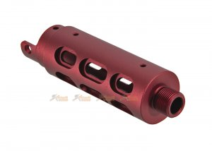 RGW CNC outer barrel Type B Oval Cut AAP-01 (Red)